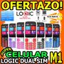 Wow Celular Logic M1 Plus Dual Band Doble Linea Liberado