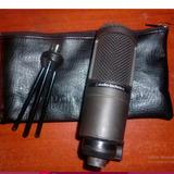 Microfono Condensador Audiotechnica At2020