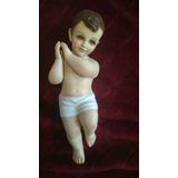 Niño De Belen De 35cm Imagen Religiosa De Poliresina