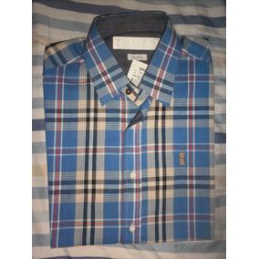 4c7a48cff Camisa Xadrez De Grife Masculina