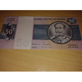 Notas Antigas De 50 Cruzeiro