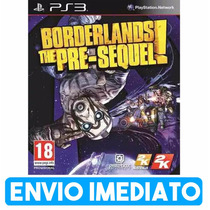 Borderlands The Pre Sequel Ps3 Cod Psn Envio Imediato