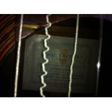 Guitarra Jose Yacopi Barcelona Años 40