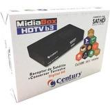 Receptor Midiabox Hdtv B3 Century Hd C/ Conversor Digital
