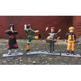 Set De 4 Figuras De Naruto 12cm