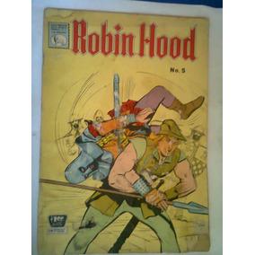 1964 Robin Hood # 5 Comic De Editorial La Prensa Antiguo