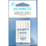 05 Pacotes - Agulha Schmetz Embroider 75/11 H Universal