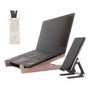 2 Soportes, Base Para Notebook + Soporte Celular Gratis !