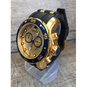 393eff47589 Relógio Invicta Pro Diver 6983 Dourado Com Caixa Stank - Relógios no ...