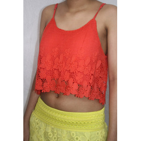Bl1243 Crop Tops Varios Colores, It Girls Colombia