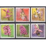 Rumania 2007 - Flores Orquideas Hermosa Serie Completa Mint