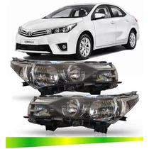 Par Farol Toyota Corolla 2014 2015 2016 2017 S/projeto S/led