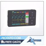 Osciloscópio Digital Portátil Ds202 Automotivo 1 Mhz Touch