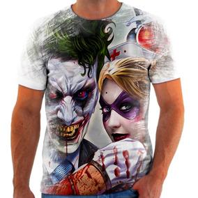 Camiseta Camisa Personalizada Coringa Arlequina 2