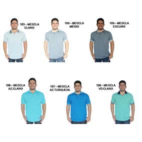 Kit 24 Polo Pp Ao Gg (40 Cores)masculina E Feminina Uniforme
