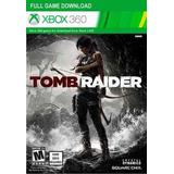 Tarjeta Descarga Juego Tomb Raider Xbox 360