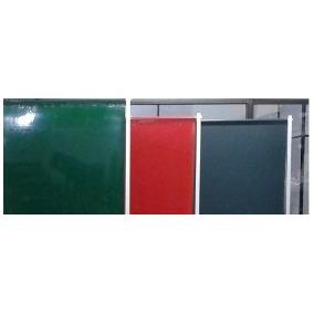 Cortina De Solda Pvc Vermelha 1,22 X 1,78 X 0,4mm