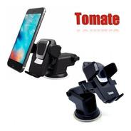Suporte Celular Gps Carro Veicular Trava Automática Tomate