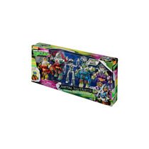 Tartarugas Ninjas Metal Mutants 5 Figuras Novo Playmates
