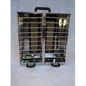Churrasqueira Para 20 Espetinhos A Gás Aço Inox C/queimador