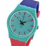 Reloj Swatch Shunbukin Gg215 Malla Caucho Siliconada 30m Wr