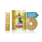 Videojuego Nintendo Wii The Legend Of Zelda Skyward Swor 430
