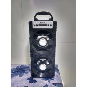 Caixa De Som Bluetooth Rádio Fm Micro Sd Aux Inova Rad-212bt