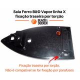 Saia Ferro Black & Decker Vapor - Peças Para Ferro Vapor B&d