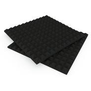 Panel Acústico Diseño Basic Piramide 500 X 500 X 30 Mm