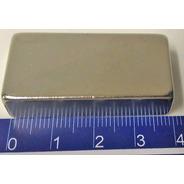 Imã De Neodímio N45 40mm X 20mm X 10mm - 1pç Super Forte