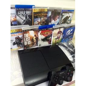 Playstation S/n 3-ps3 Gb**brinde 2 Jogos**