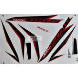 Kit Faixa Adesivo Bros Nxr 150 Es/esd Branca 2014