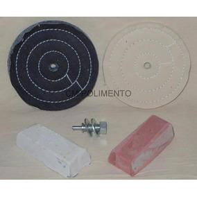 Kit 13-polimento Espelhamento Aluminio-de Moto/carro,perfil