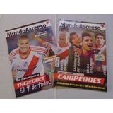 Revista Mundo Ascenso 1 Y 2 -trezeguet River 2012