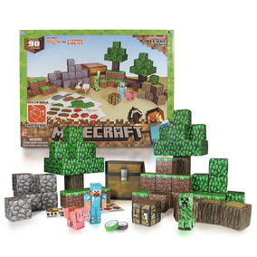 Minecraft Arte De Papel Encima Del Mundo, Set 90 Piezas