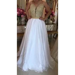 Vestido Bordado Com Perolas Madrinha Casamento Formatura