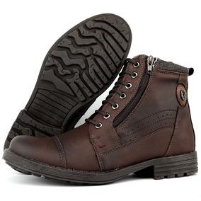 Sapato Coturno Bota Masculina Casual Adventure Worker