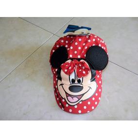 2 Gorras De Minnie Mouse Disney Y Sombrero Princesas P/niña