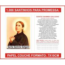 1.000 Santinhos Santa Gemma Galgani (para Pagar Promessa)