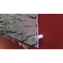 Expositor Oculos Acrílico Branco Transp 36 Oculos 50x67