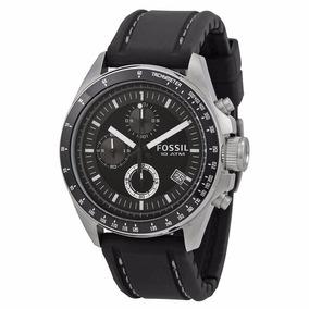 Reloj Fossil Decker Ch2573 Negro P/caballero