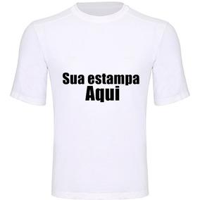 Camiseta Personalizada Com Sua Estampa Frase Eventos Festas