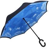 G4free Doble Capa De Paraguas Invertido Coches Paraguas R...