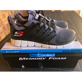Skechers Air Cooled Memory Foam Boys Talle37, Nuevas En Caja