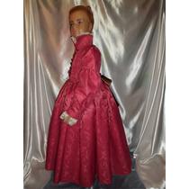 Disfraz Traje Vestido De Época, Dama Antigua