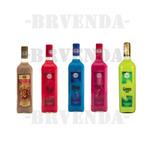 Kit Pinga Colorida Sweet - 6 Garrafas 920 Ml