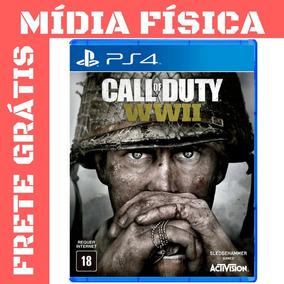 Call Of Duty Wwii Ps4 Cod Ww2 Midia Fisica Lacrado Português