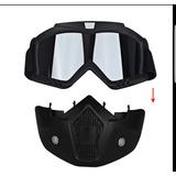 Mascara Motocicleta Mask Shark Casco 3/4 Gogles Harley