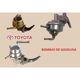 Bomba Gasolina Toyota Corolla Araya Baby Camry 1.6 Carburado
