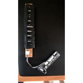 Placa C/ Teclado E Sensor Controle Remoto Tv Lcd Lg32 Ld460